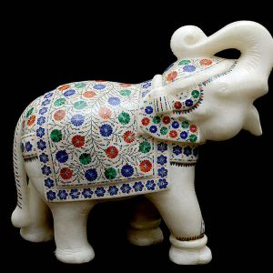 14 inch Elephant Statue