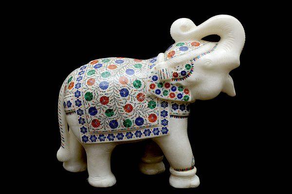 14 inch Elephant Statue