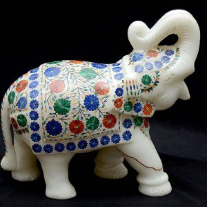 Elephant Statue 8 inch