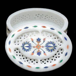 Oval Shape Fancy Box of 4/3 inch