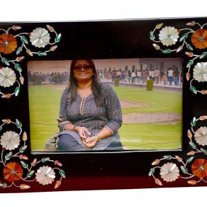 Black Rectangle Photo Frames 8/6 inch