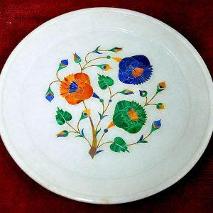White Round Plates of 6 inch