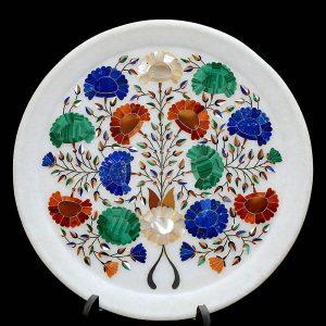 White Round Plates of 8 inch