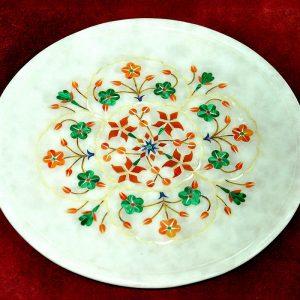 White Round Plates of 7 inch