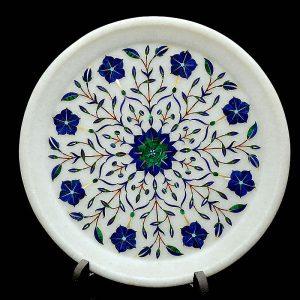 White Round Plates of 9 inch