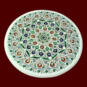 White Round Table Top of 24 inch