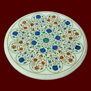 White Round Table Top of 13 inch